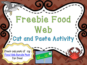 Freebie Food Web Activity