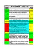 Indiana Grade 5 ISTEP+ to ILEARN Critical Standards Correlation- Math