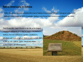 Indiana History PowerPoint - Part II