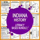 Indiana History Bundle – TEN Indiana State Study Lessons!
