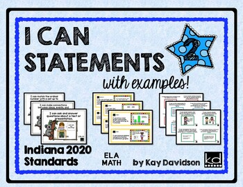 Indiana I CAN Statements for Grade 2