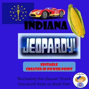 Indiana Jeopardy Game