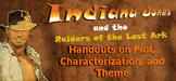 Indiana Jones Raiders Lost Ark Movie Handouts Plot, Charac