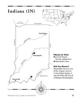 Indiana (Map & Facts)