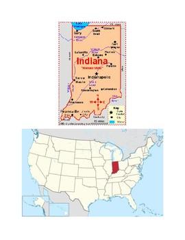Indiana Map Scavenger Hunt