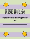 Indiana RISE Rubric Documentation Organizer Tabs DOMAIN 1