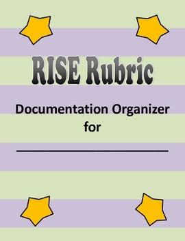 Indiana RISE Rubric Documentation Organizer Tabs DOMAIN 2
