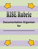 Indiana RISE Rubric Documentation Organizer Tabs FULL SET
