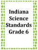 Indiana Reading (2014) and Science (2016) Academic Standards Checklist