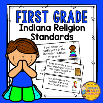 Indiana Religion Standards for First Grade