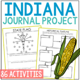 INDIANA State History Guided Research Project, Notebook Jo