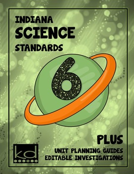 Indiana Science Standards Grade 6