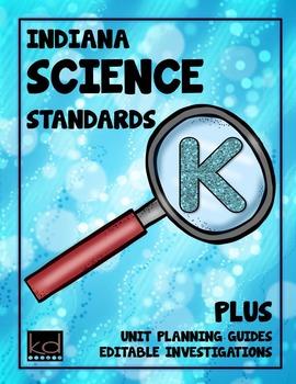Indiana Science Standards for Kindergarten