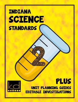 Indiana Science Standards for Second Grade