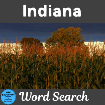Indiana Word Search