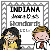 Indiana Second Grade Standards {Checklist}