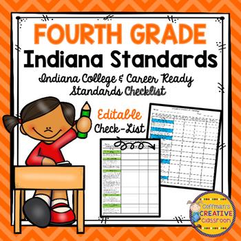 Indiana Standards 4th Grade Checklist