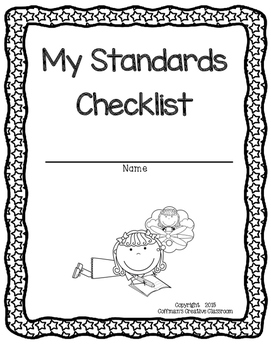 Indiana Standards 5th Grade Checklist