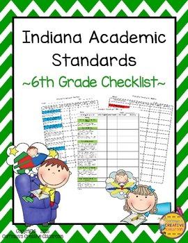 Indiana Standards- 6th Grade Checklist