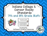 Indiana Standards ~ 7th and 8th Grade Math
