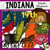 Indiana State Clip Art