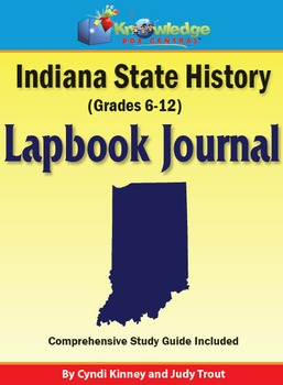 Indiana State History Lapbook Journal