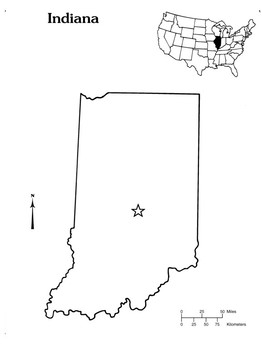 Indiana State Outline