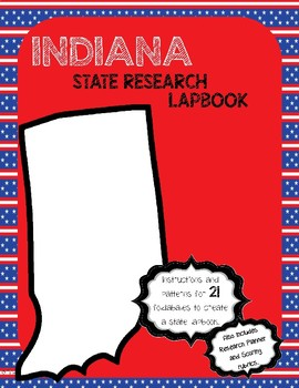 Indiana State Research Lapbook Interactive Project