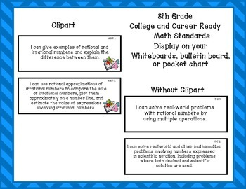Indiana State Standards- 8th Grade Math
