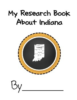 Indiana State Student Research Book