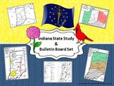 Indiana State Study & Bulletin Board Set