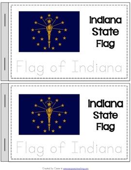 Indiana State Symbols Notebook