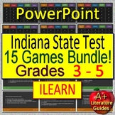 ILEARN ELA Indiana Test Prep for English Language Arts - 15 Games Grades 3 - 5