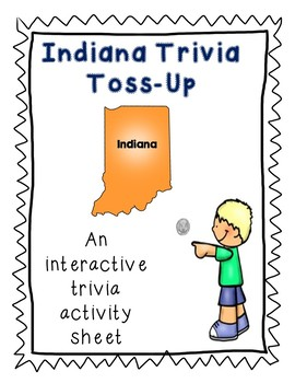 Indiana Trivia Toss-Up Challenge - State Geography