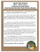 Indiana Young Hoosier Book Award 2017 - 2018 Book Review Activity Pack NO PREP