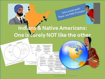 Indians & Native Americans: One is Surely NOT Like the Other