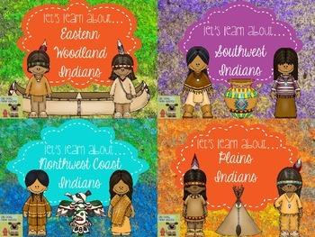 Indians Teaching Resource BUNDLE