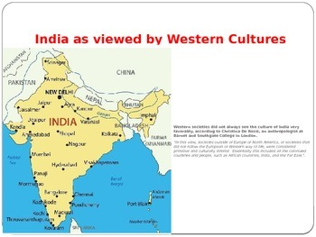 India's Culture & Geography Power Point