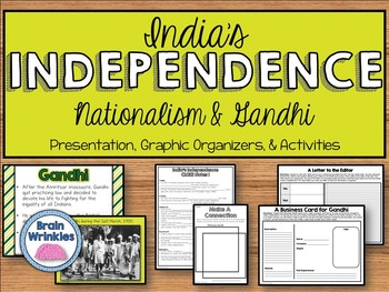 India's Independence ~ Nationalism & Mohandas Gandhi (SS7H3)