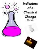 Indicators of a Chemical Change-Mini Lab