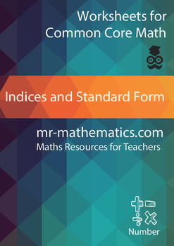 Indices and Standard Form eBook