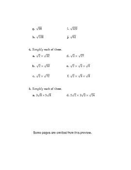 Indices and Surds Bundle