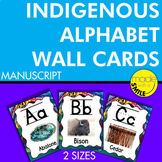 Indigenous Alphabet Wall Cards (Canada) Manuscript