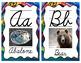 Indigenous Alphabet Wall Cards (Canada) Cursive