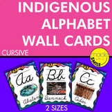 Indigenous Alphabet Wall Cards (Canada) Cursive