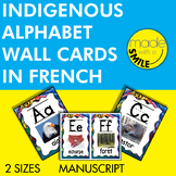 Indigenous Alphabet Wall Cards French Version (Manuscript)