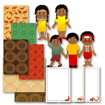 Indigenous Australian Clip Art Pack 2 Commercial Use