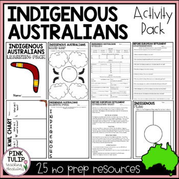 Indigenous Australians - Teaching Activity Pack