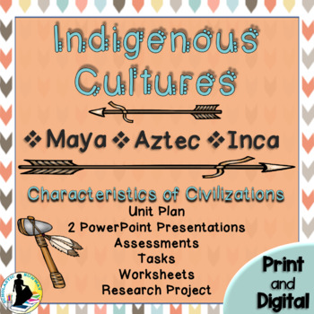 Ancient Civilization Unit: Maya Aztec Inca