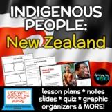 Indigenous People of New Zealand: Maori Slideshow, Notes,